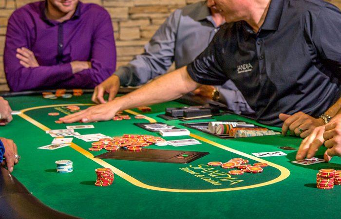 Poker at Sandia Resort and Casino