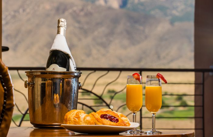 Room Service at Sandia Resort and Casino