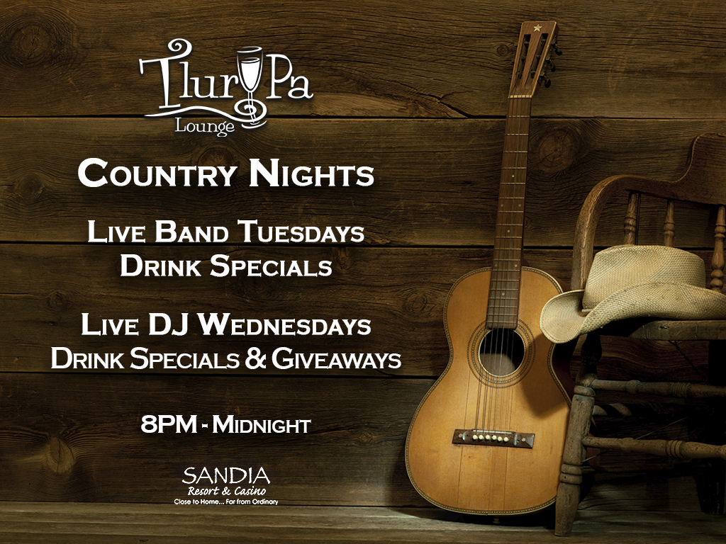 Country Tuesdays Music live dancing at the lounge