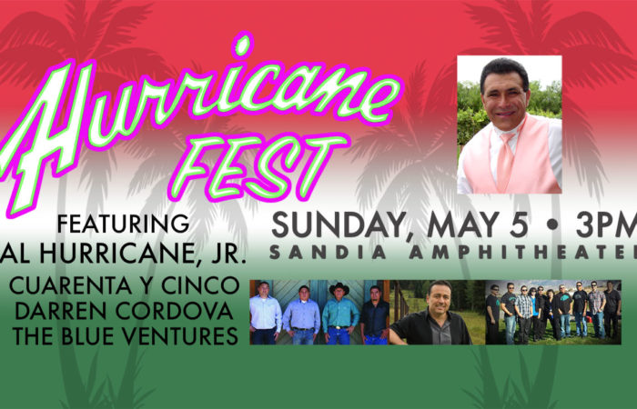 Hurricane Fest Cicno De Mayo