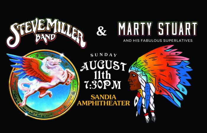 Steve Miller Band Marty Stuart Live in Concert