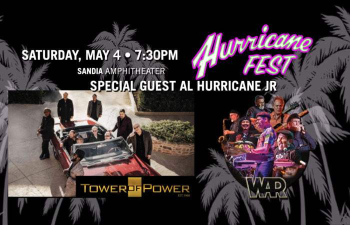 Hurricane fest tower of power war in concert live cinco de mayo