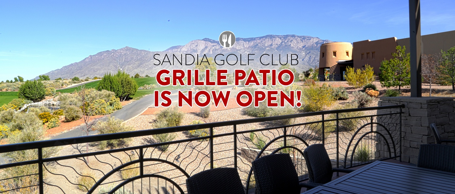 Grille Patio now open